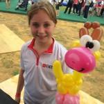 Giraffe Balloon Sculpture