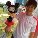 Mickey Mouse on Wrist Balloon