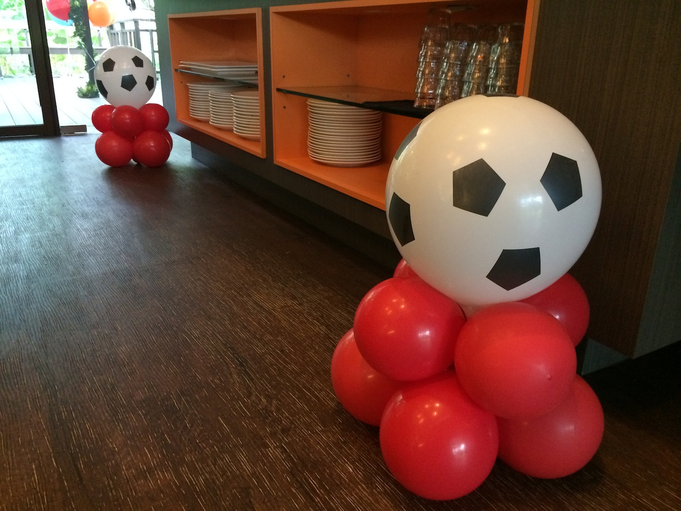 Balloon Soccer Ball