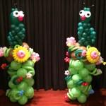 Balloon Caterpillar Columns