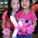 Balloon Sculpting at Lau Pa Sha Singapore
