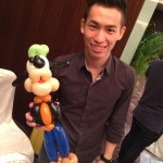 Balloon Goffy Sculpture