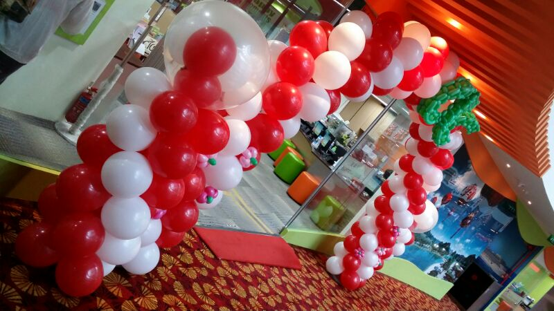 CTC Travel Balloon Arch