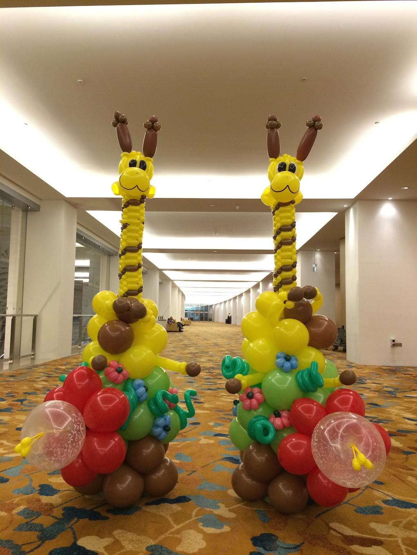 Life Size Balloon Giraffe