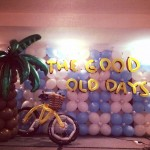 Stage Balloon Backdrop Decorations
