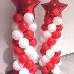 Star Balloon Columns