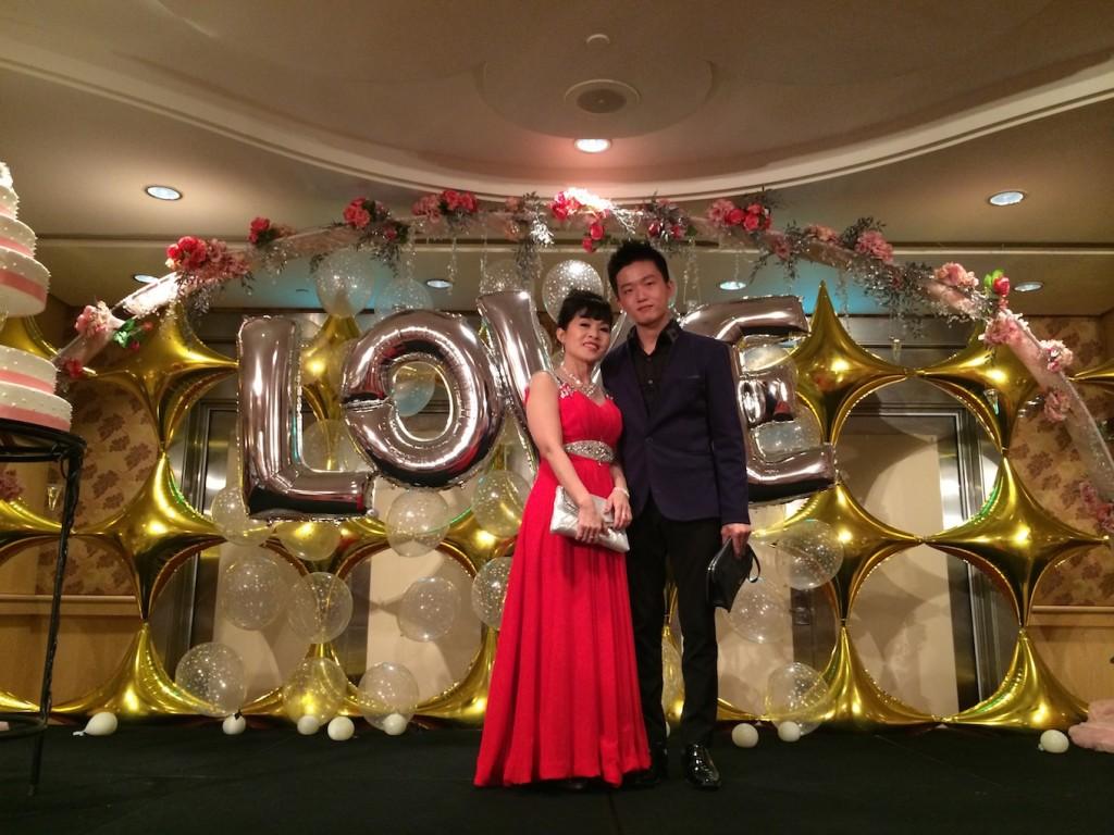 Singapore Wedding Balloon Decorations