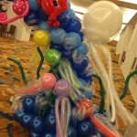 Balloon Jelly Fish Sculptures