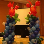 Balloon Lobster Sculpture