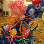 Balloon Octopus Sculptures