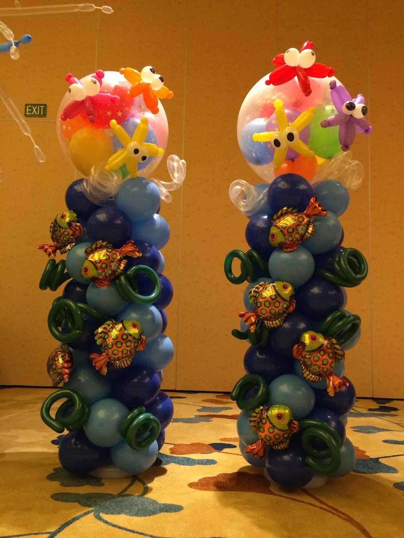 Balloon Star Fish Sculpture That Balloons