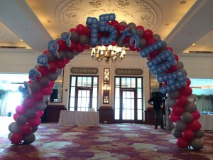 Corporate Event Balloon Arch