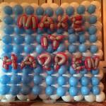 Corporate Event Balloon Backdrop