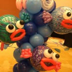 Pufferfish Balloon Sculpture