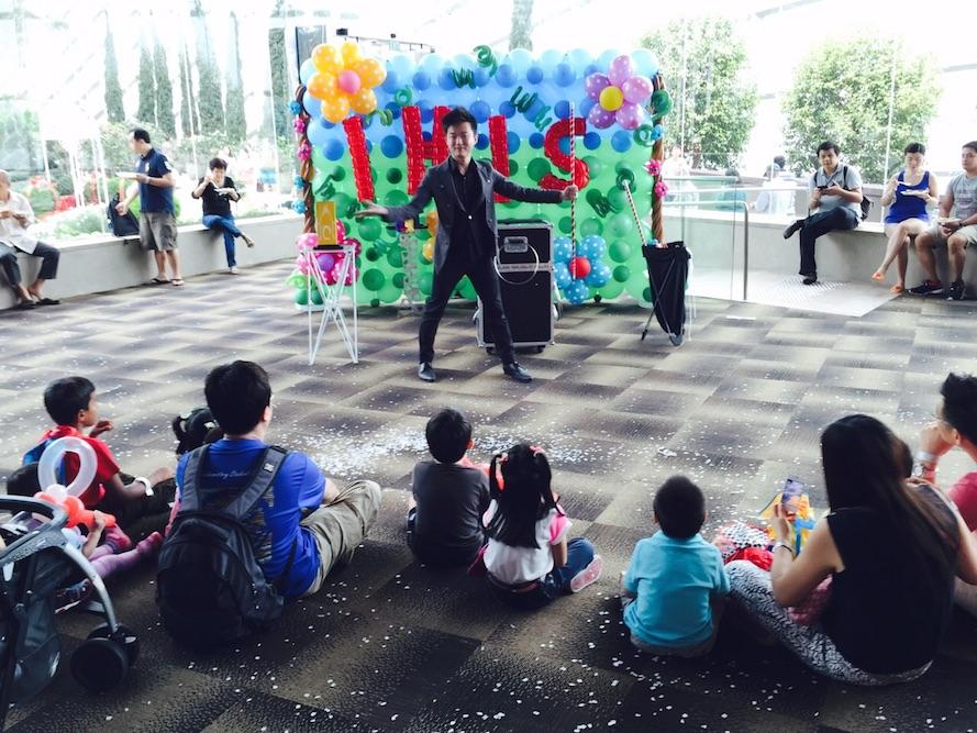 Singapore professional magician