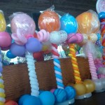 Balloon Candy Column