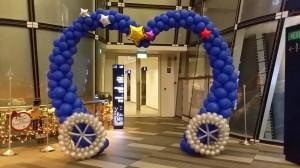 Balloon Carridge Arch Singapore