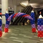 Balloon Castle Pillar