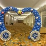 Balloon Heart Shape Arch