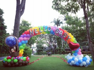 Balloons for Wedding Proposal