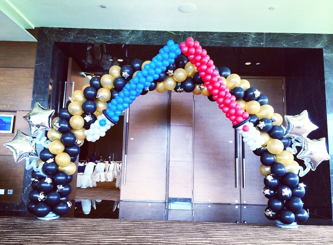 Balloon arch archives that balloonsthat balloons for Balloon decoration arches
