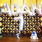 ADAN Balloon Backdrop Display
