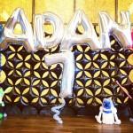 Star Wars Balloon Backdrop