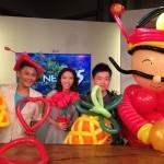 Balloon Artist on Mediacorp TV