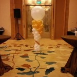 Balloon Column for event Singapore