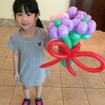 Balloon Flower Bouquet Sculptures