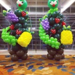 Balloon Fruits and Caterpillar