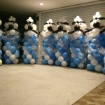 Sheep Balloon Sculpture Columns