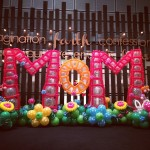 Customised Balloon Backdrop