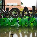 Balloon Letters Display