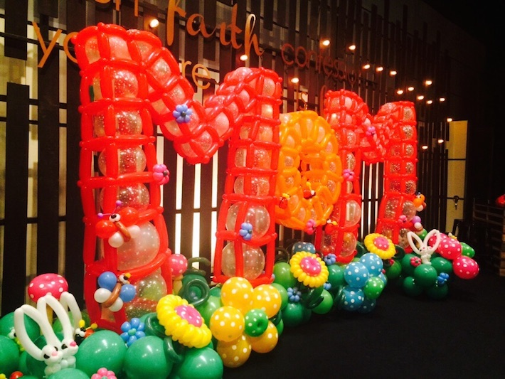 Balloons for City Harvest Church