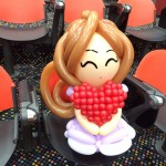 Nice Balloon Princess Sculpture