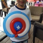 Balloon Captain America Shield
