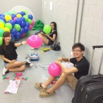 Balloon workers