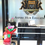 Balloons at Aspire Hub Education