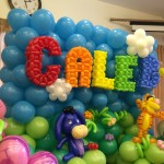 Cartoon Balloon Decorations for birthday party