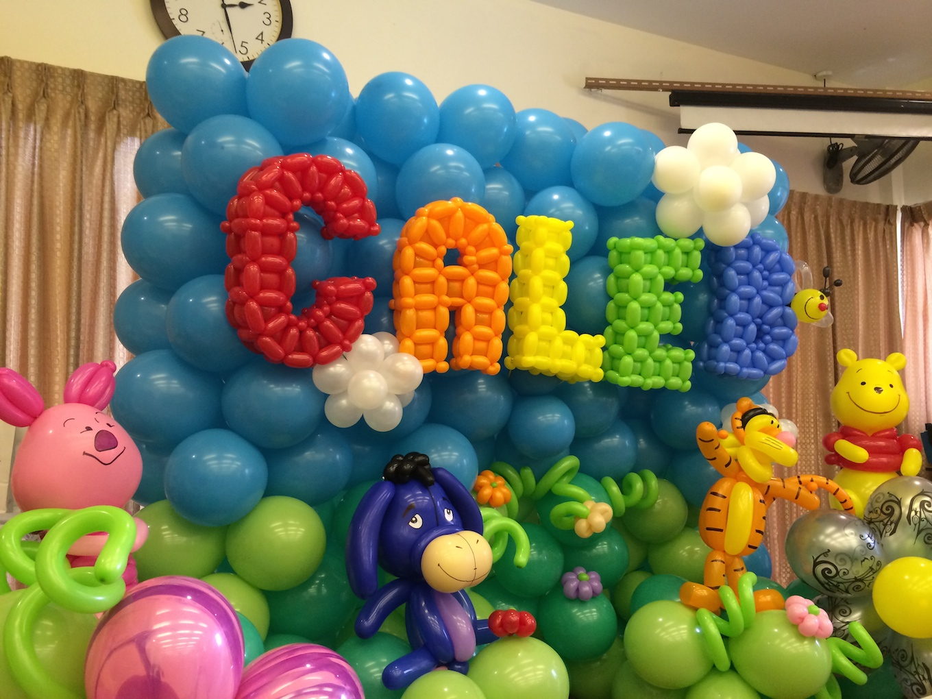 cartoon balloon decorations for birthday party that balloons. Black Bedroom Furniture Sets. Home Design Ideas