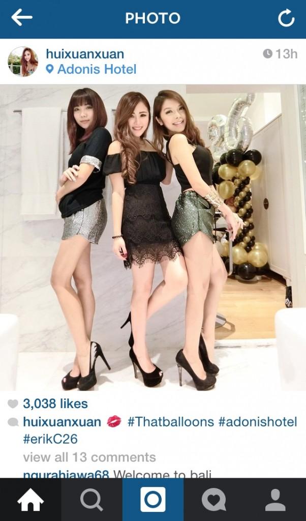 Huixuan NOC instagram