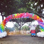 Large Balloon Entrance Arch
