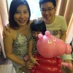 Pig Balloon Sculpture Singapore