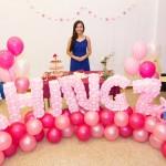 Balloon Name Sculpture Photobooth