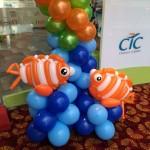 Fish Balloon Sculpture