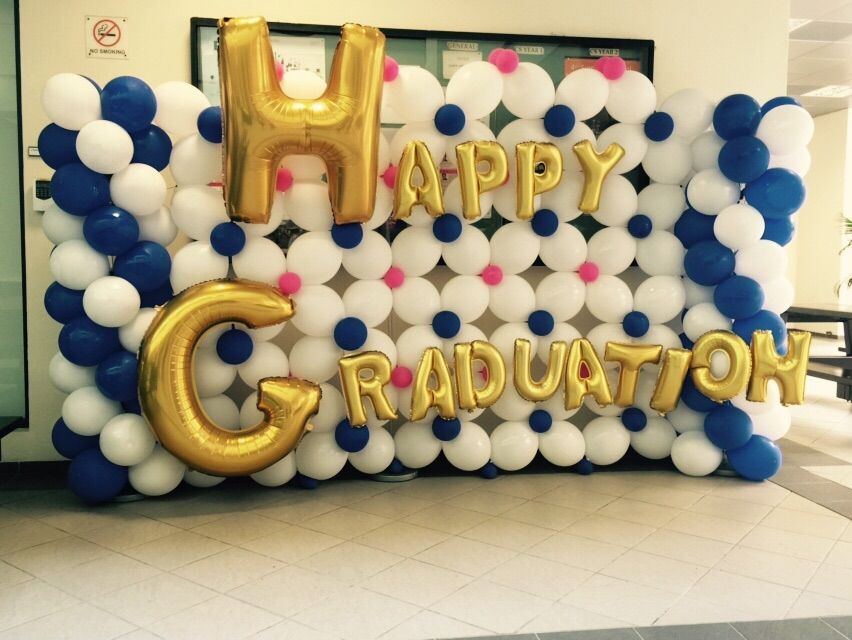 Graduation Theme Backdrop