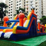 Sports Inflatable Bounce Castle