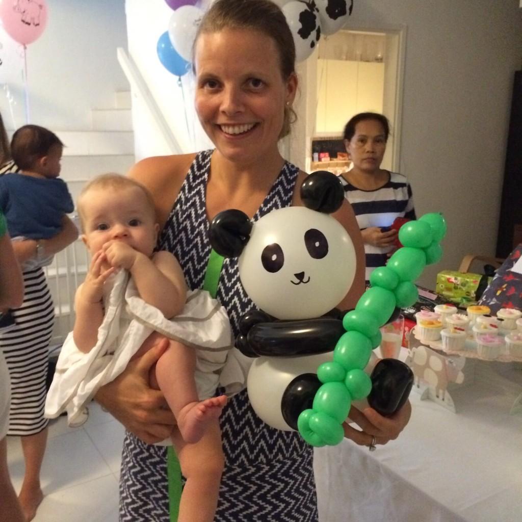 panda balloon for party