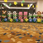 Animals Balloon Columns